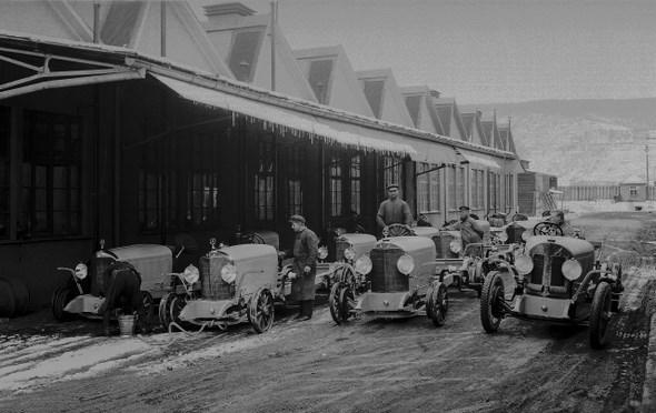 DMG Fahrabteilung, 1925