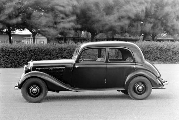 Mercedes-Benz Typ 170 V, 38-PS, Limousine, Bauzeit: 1936 - 1942.