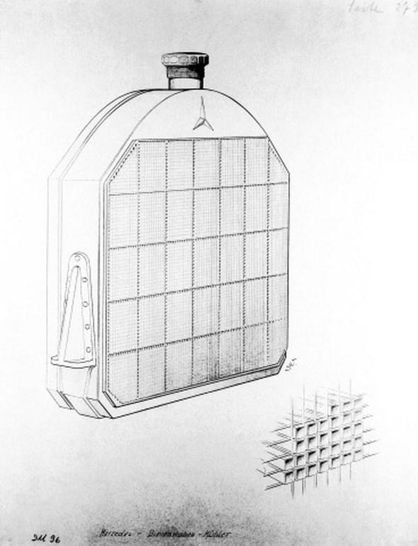 Bienenwabenkühler