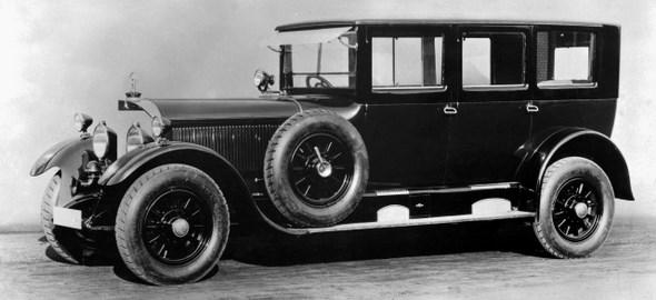 Mercedes-Pullman-Limousine 24/100/140 PS