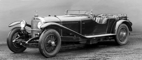 Mercedes-Benz Typ S, 26/120/180 PS, Sport-Viersitzer, Bauzeit: 1926 bis 1930.