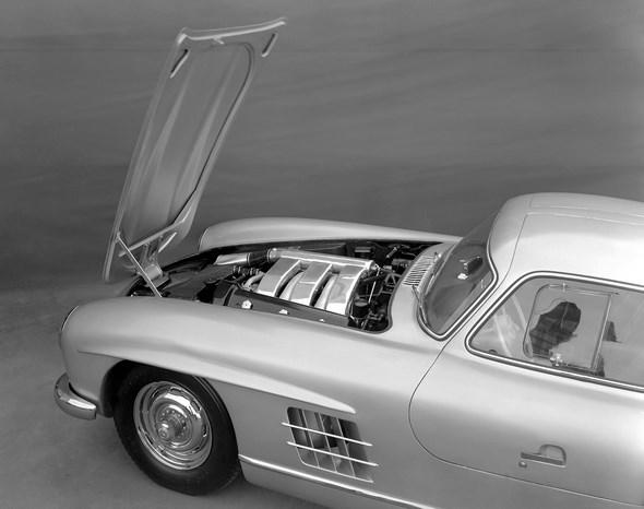 Mercedes-Benz Typ 300 SL Coupé, 1954.