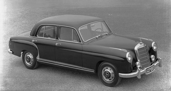 Mercedes-Benz Typ 220 a der Baureihe W 180 I.