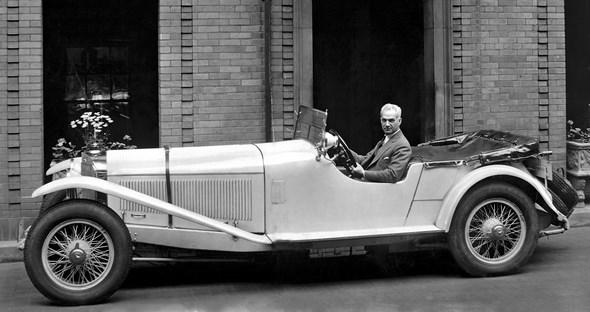 Mercedes-Benz Typ S, 26/120/180 PS, Cabriolet, Bauzeit: 1926 bis 1930.