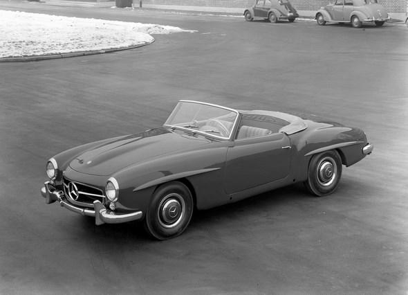 Mercedes-Benz Typ 190 SL Roadster aus dem Jahre 1955