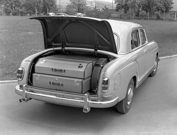 """Ponton-Mercedes"" Typ 220 a, 1954-1956"