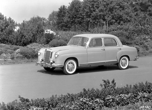 Mercedes-Benz Typ 220 a, 1954 bis 1956