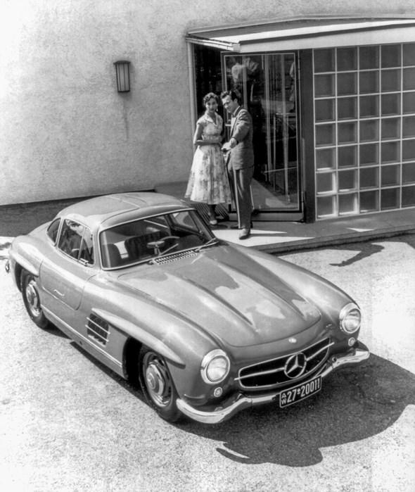 Mercedes-Benz Typ 300 SL Coupé, 1954 - 1957.