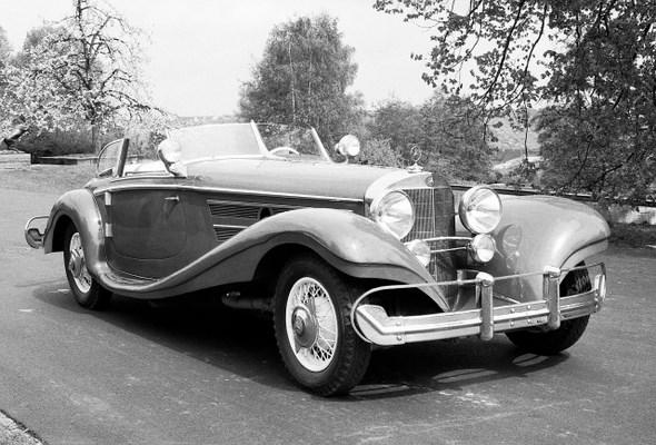 Spezial-Roadster Typ 500 K, 1936