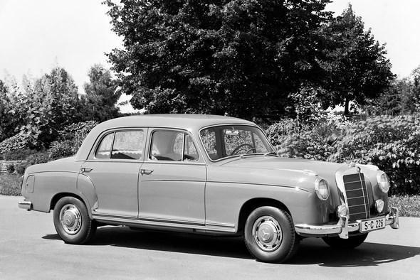 """Ponton-Mercedes"" Typ 220 S, 1956 - 1959."