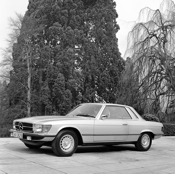 Mercedes-Benz SLC-Coupé Typ 280 SLC, 350 SLC bzw. 450 SLC, aus den Jahren 1972 bis 1981