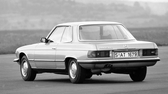 Mercedes-Benz SLC-Coupé Typ 280 SLC, aus den Jahren 1974 bis 1981