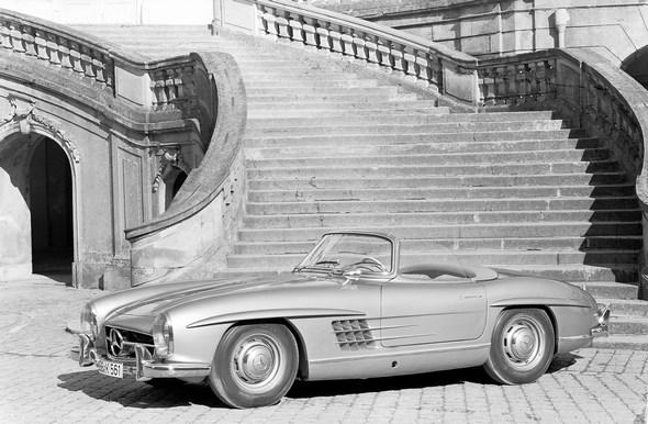 Mercedes-Benz Typ 300 SL Roadster, 1957 - 1963.