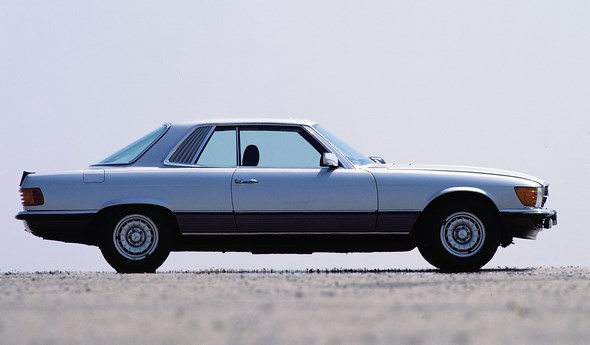Mercedes-Benz SLC-Coupé der Baureihe 107