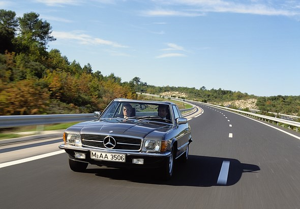 Mercedes-Benz SLC-Coupé der Baureihe 107