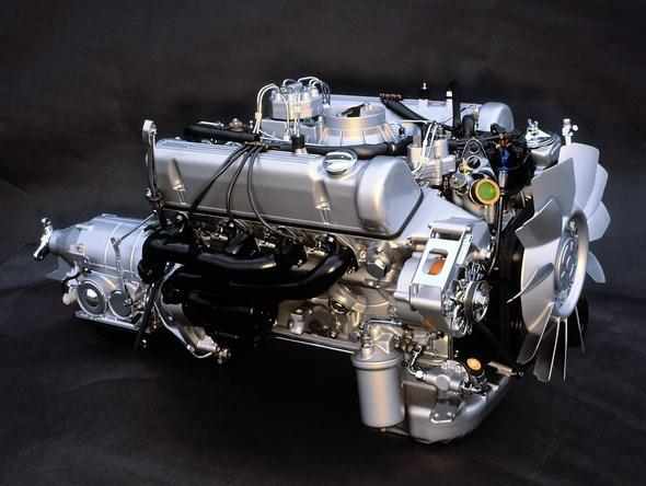 Mercedes-Benz Typ 450 SLC 5.0 Liter, Einspritzmotor