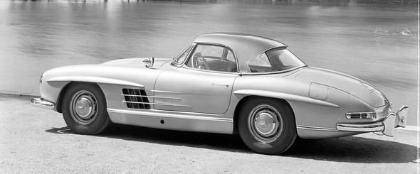 Mercedes-Benz Typ 300 SL Roadster mit Coupédach, 1958 - 1963.