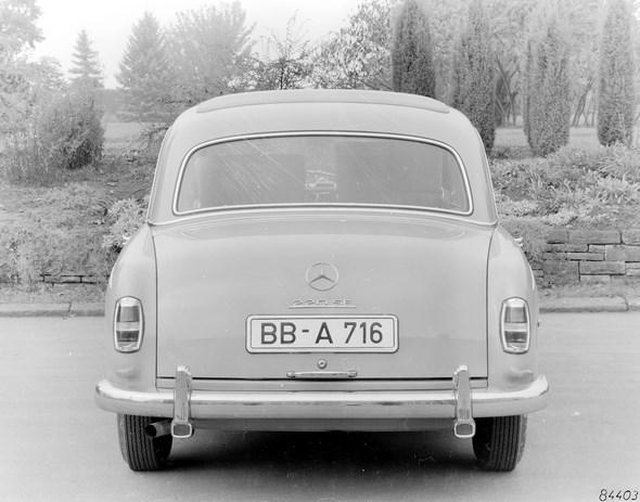 """""""Ponton-Mercedes"""" Typ 220 SE, 1958-1959"""