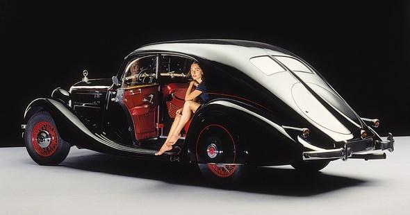 """Mercedes-Benz Typ 320 Stromlinien-Limousine, """"Autobahnkurier"""", 1938"""