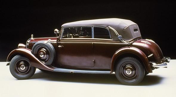 Mercedes-Benz Typ 230 Cabriolet B aus dem Jahre 1937