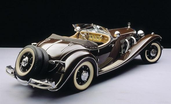 Mercedes-Benz Typ 500 K Luxusroadster, 1935
