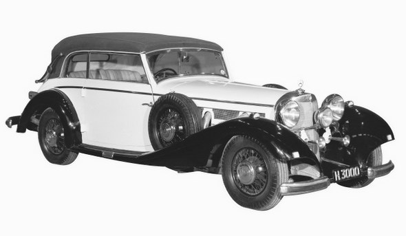 Mercedes-Benz Typ 540 K, 1936