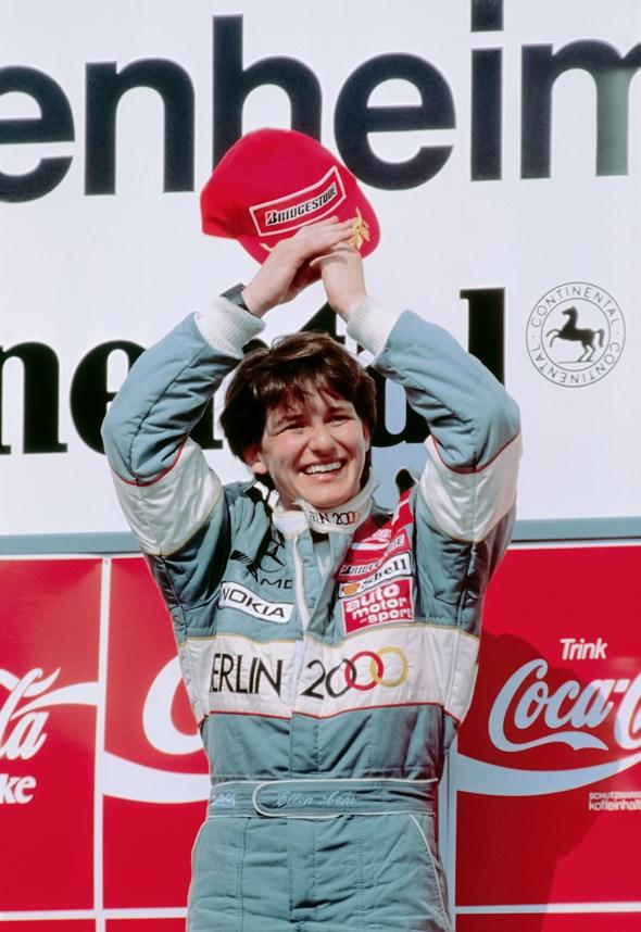 Rennfahrerin Ellen Lohr Racing Driver Ellen Lohr