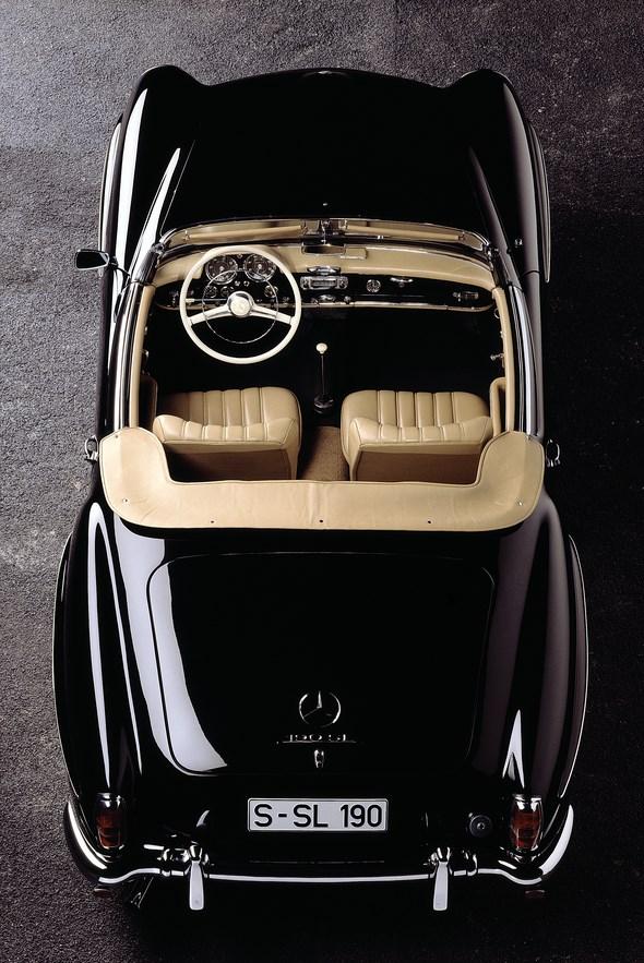 Mercedes-Benz Typ 190 SL Roadster, 1955