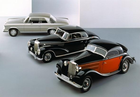Mercedes-Benz Typ 280 SE 3,5 Coupe, W111 E35 I, Mercedes-Benz Typ 300 Sc Coupe, W188, Mercedes-Benz Typ 320 n Kombi- Coupe, W142-I
