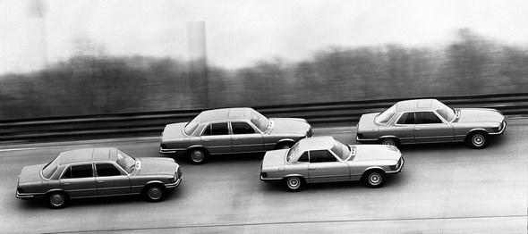Mercedes-Benz Typ SLC und S-Klasse aus dem Jahre 1980