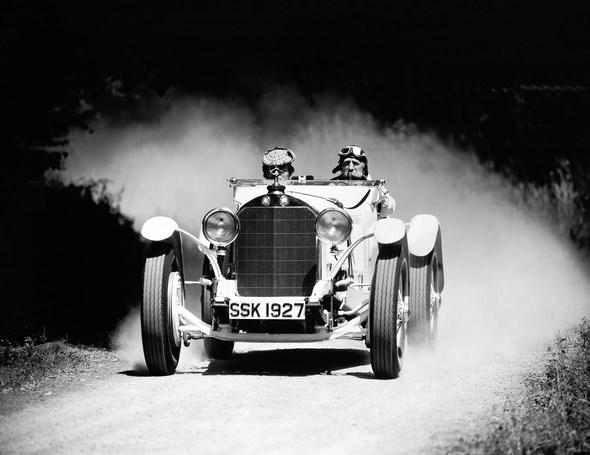 Mercedes-Benz Typ SSK, Sportwagen, Bauzeit: 1927 bis 1932.
