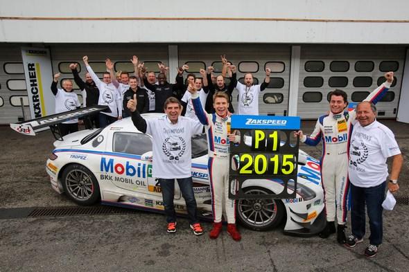 ADAC GT Masters - 8. Lauf 2015 - Hockenheim, GER - Foto: Gruppe C GmbH