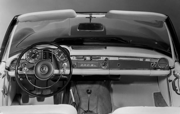 Mercedes-Benz Typ 230 SL, 1963 - 1967. Armaturen
