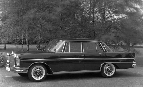 Mercedes-Benz Typ 300 SE aus dem Jahre 1961.