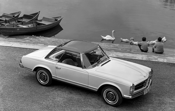 Mercedes-Benz Typ 230 SL, 1967.