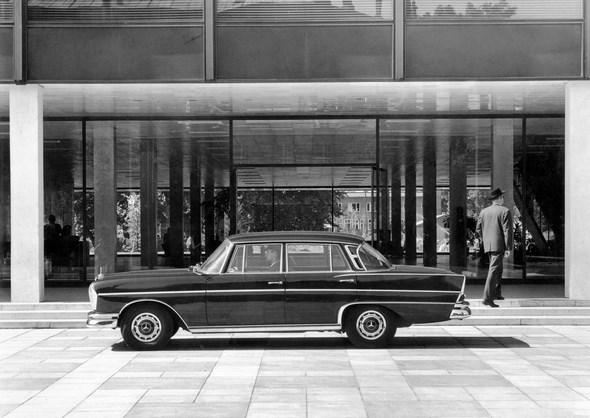 Mercedes-Benz Typ 300 SE aus dem Jahre 1961