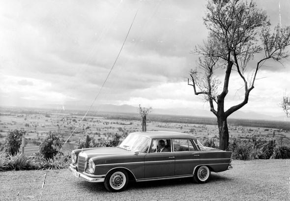 """Heckflossen-Mercedes"" Typ 300 SE, 1961 - 1965."