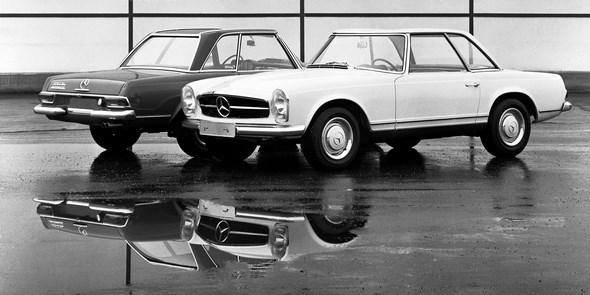 Mercedes-Benz Typ 250 SL, 1966-1968.