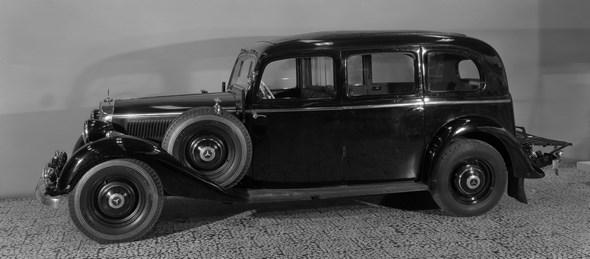 Mercedes-Benz Typ 260 D, 45 PS, Pullman-Limousine, Bauzeit: 1937 bis 1940.