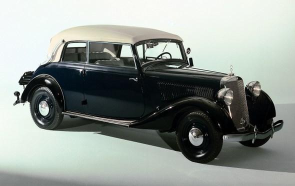 Mercedes-Benz Typ 170 V Cabriolet B aus dem Jahre 1936.