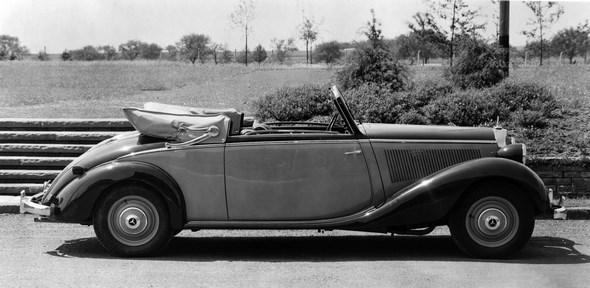 Mercedes-Benz Typ 230, 55 PS, Cabriolet A, Bauzeit: 1938 bis 1940.