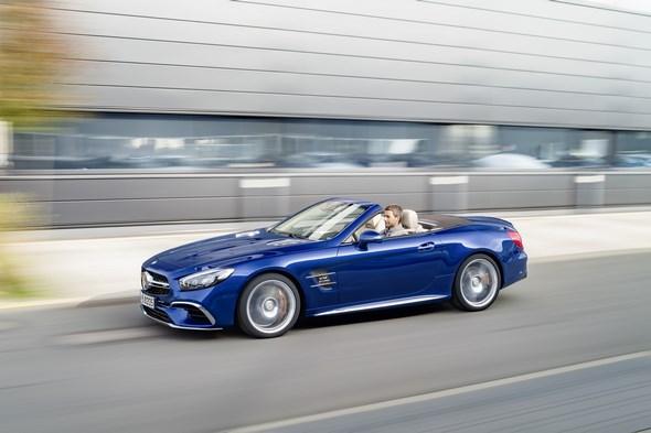Mercedes-AMG SL, R 231, 2015