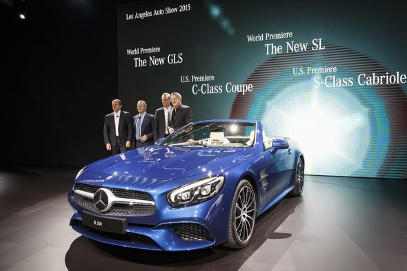 Mercedes-Benz auf der Los Angeles Auto Show (LAAS) 2015 Mercedes-Benz at the Los Angeles Auto Show (LAAS) 2015