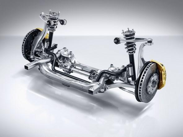 AMG Sport-Parameterlenkung AMG speed-sensitive sports