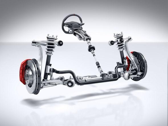 AMG Sport-Parameterlenkung AMG speed-sensitive sports steering