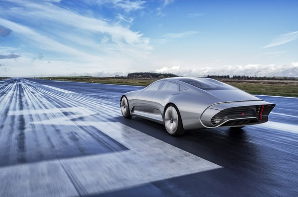 Mercedes-Benz Concept IAA (Intelligent Aerodynamic Automobile)