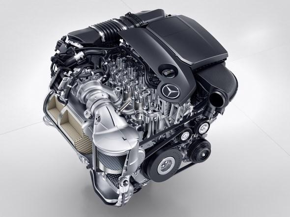 Mercedes-Benz Vierzylinder Premium-Diesel, OM 654, 2016 Merced