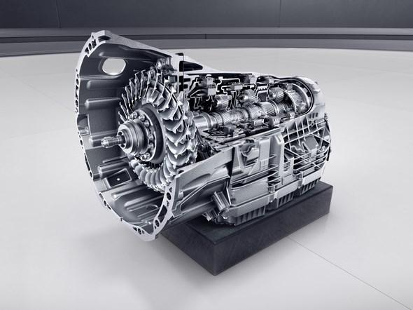 Mercedes-Benz SL. 9G-TRONIC Getriebe Mercedes-Benz SL. 9G-TRONIC gear