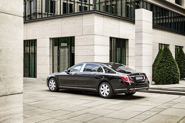 Mercedes-Maybach S 600 Guard.