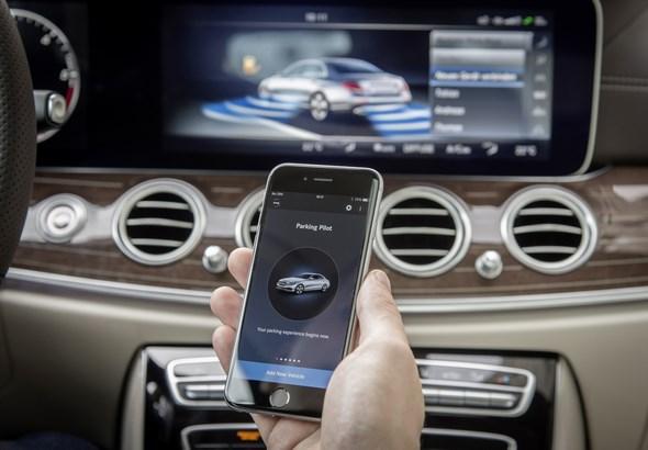Mercedes-Benz Remote Park-Pilot - Mercedes-Benz Remote Parking